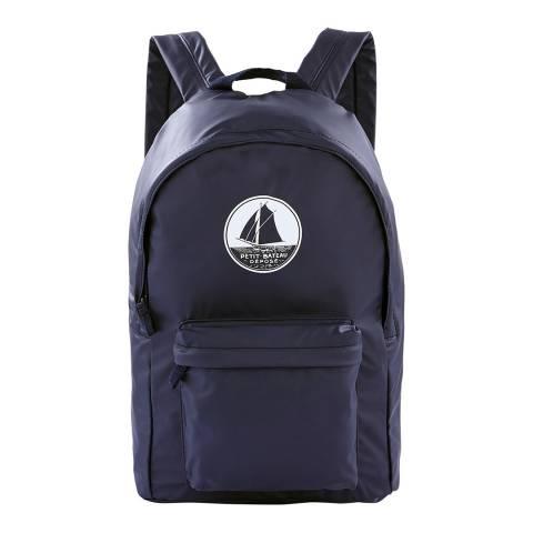 Petit Bateau Navy Waterproof Backpack