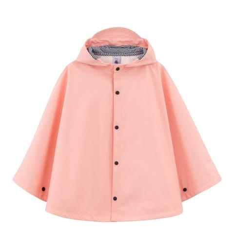 Petit Bateau Pink Rain Cape