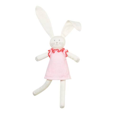 Petit Bateau Pink/Off White Rabbit