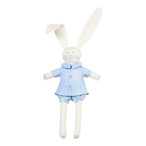 Petit Bateau Blue/Off White Rabbit