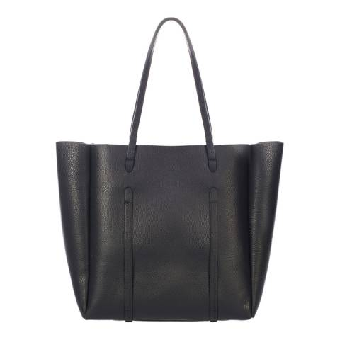 Giorgio Costa Black Leather Shoulder Bag