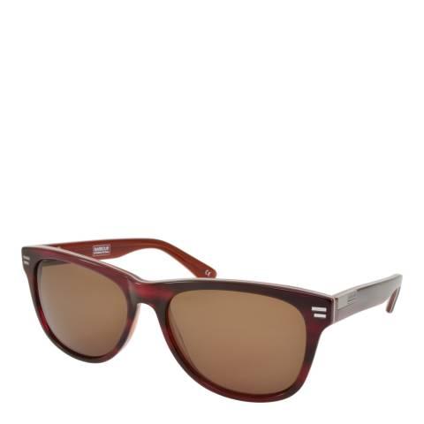 Barbour Unisex Red Barbour Sunglasses 55mm