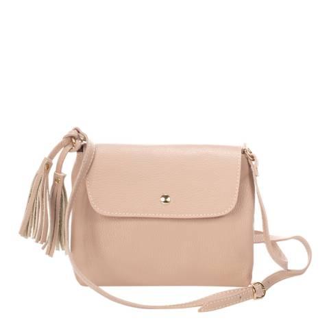 Massimo Castelli Rose Leather Crossbody Bag