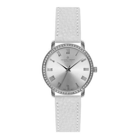 Frederic Graff Women's Silver Ruinette Mesh Watch 36mm