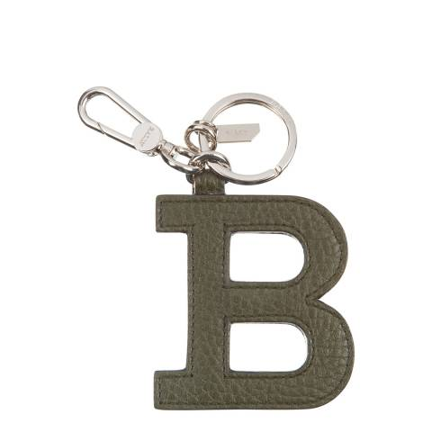 BALLY Caper B Chain Leather Keyring