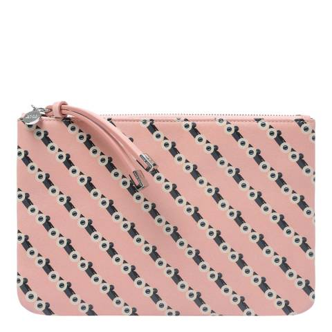 BOSS Pink Road Leather Purse