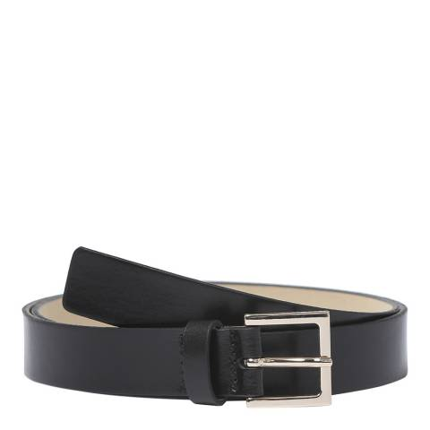 BOSS Black Brede Leather Belt