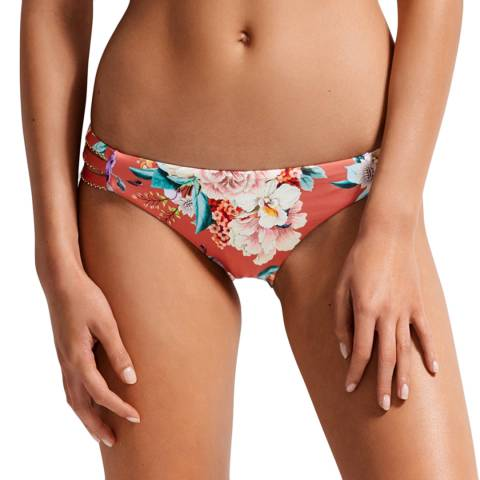 Milea By Seafolly Warm Spice Islands Double Band Hipster