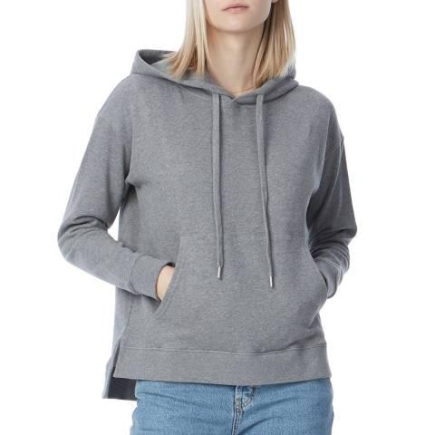 N°· Eleven Grey Cotton Hooded Sweatshirt