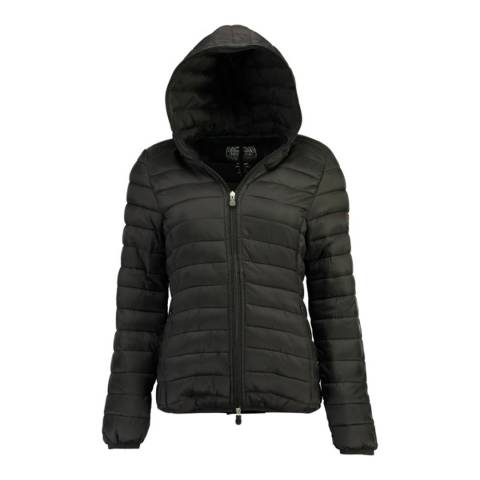 Geographical Norway Black Dafne Hood Jacket