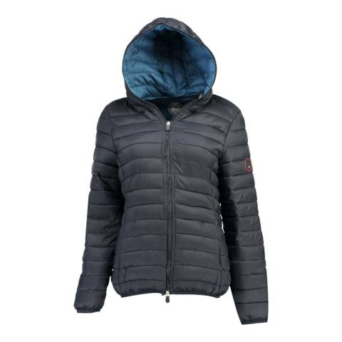 Geographical Norway Navy Dafne Hood Jacket