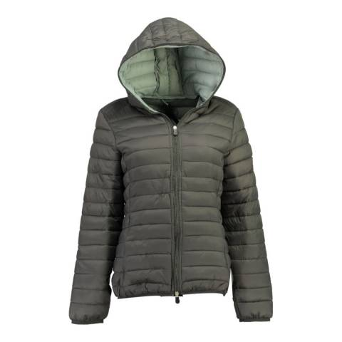 Geographical Norway Beige Dafne Hood Jacket