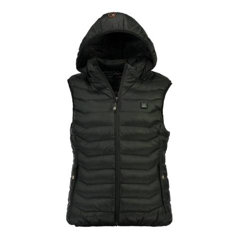 Geographical Norway Black Warmup Gilet