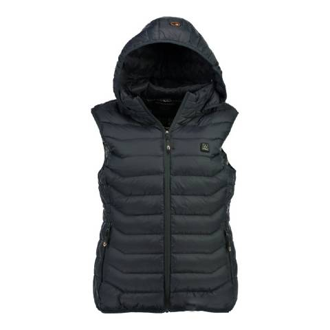 Geographical Norway Navy Warm Up Vest