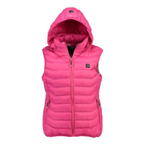 Geographical Norway Pink Warmup Gilet