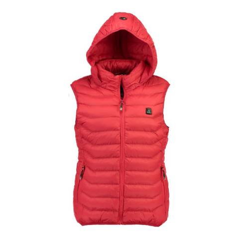 Geographical Norway Red Warmup Vest