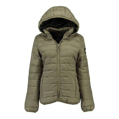 Geographical Norway Grey Areca Hood Jacket