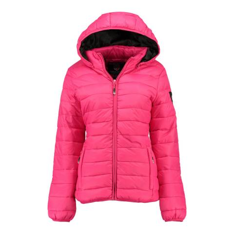 Geographical Norway Pink Areca Hood Jacket