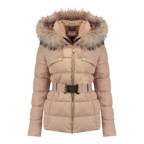 Geographical Norway Pink Diamentera Short Parka
