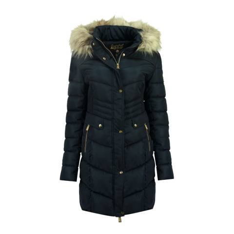 Geographical Norway Navy Badonna Parka