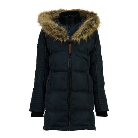 Geographical Norway Navy Beautiful Parka