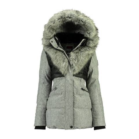 Geographical Norway Light Grey Bunky Lady Parka