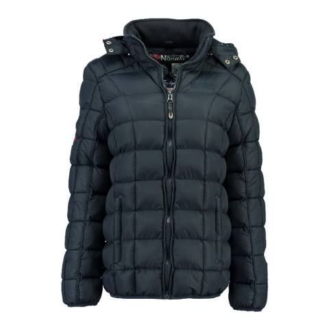 Geographical Norway Navy Babette Short Jacket