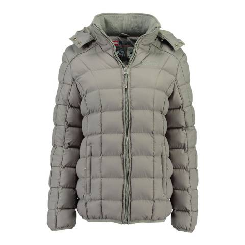 Geographical Norway Light Grey Babette Short Jacket