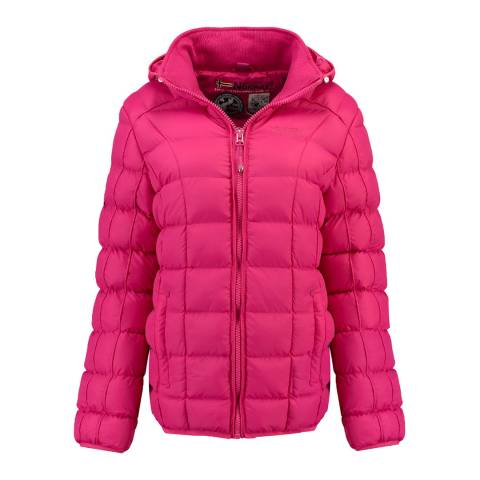 Geographical Norway Pink Babette Short Jacket
