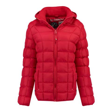 Geographical Norway Red Babette  Short Parka