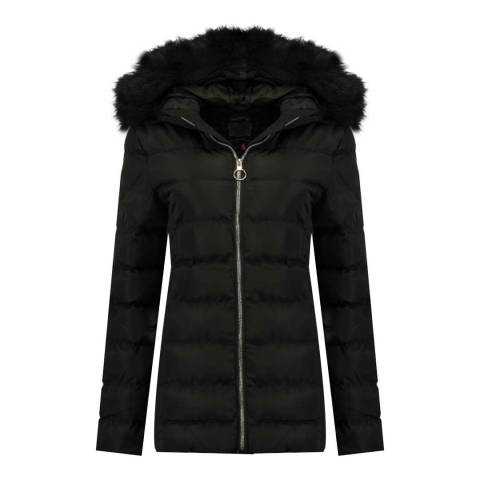 Geographical Norway Black Angely Parka