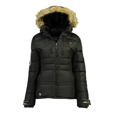 Geographical Norway Black Bersil Lady Parka