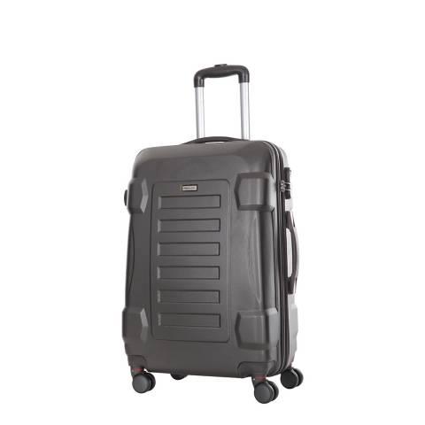 Travel One Grey Linden 8 Wheel Suitcase 50cm