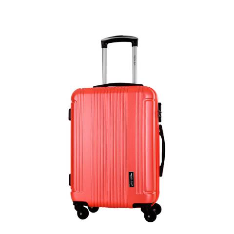 Travel One Coral Barton 4 Wheel Suitcase 50cm