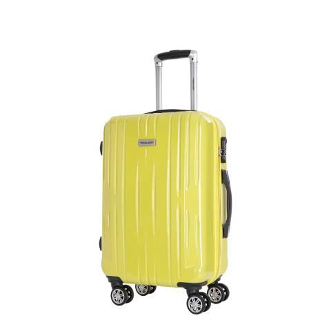 Travel One Yellow Clifton 8 Wheel Suitcase 45cm