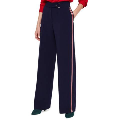 Damsel In A Dress Navy/Multi Hannie Trousers
