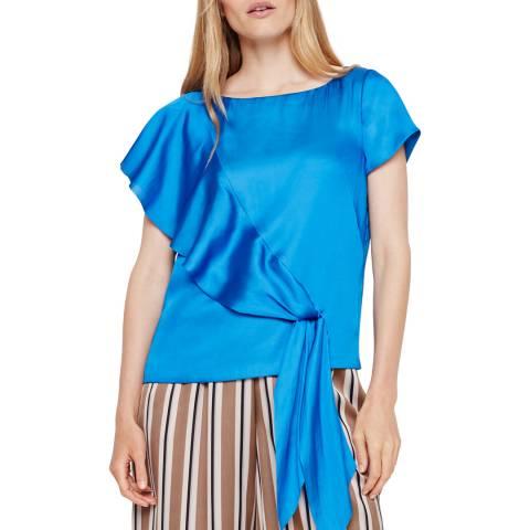 Damsel In A Dress Blue Pia Blouse