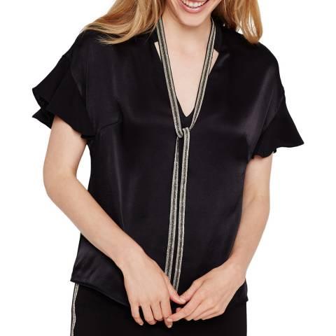 Damsel In A Dress Black Marianna Blouse