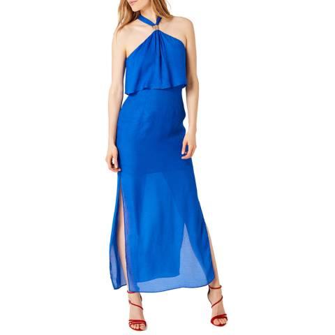 Damsel In A Dress Cobalt Karina Leopard Maxi Dress