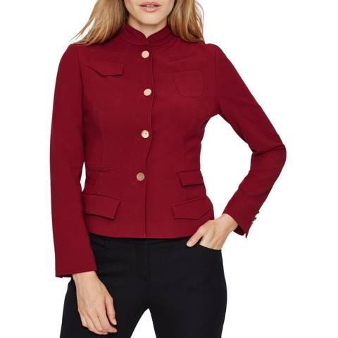 Damsel In A Dress Burgundy Daria Pocket Jacket