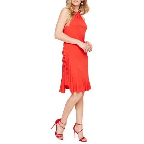 Damsel In A Dress Red Narissa Ruffle Dress