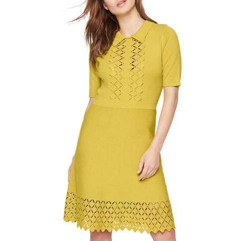 Damsel In A Dress Mustard Liona Knit Dress