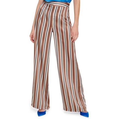 Damsel In A Dress Neutral Monti Stripe Trousers
