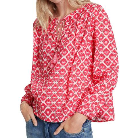 hush Triangle Geo Tallulah Blouse
