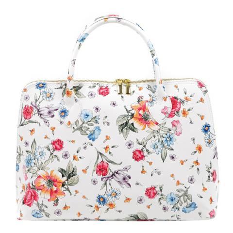 Luisa Vannini Multi Coloured Leather Top Handle Bag