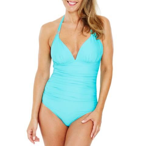 Seaspray Aqua Hourglass Swimsuit