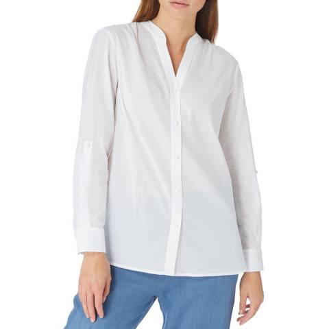 Laycuna London White Collaress Button Through Shirt