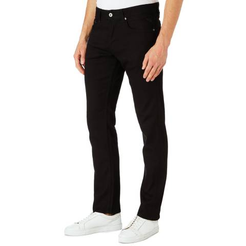 Replay Black Grover Straight Stretch Jeans