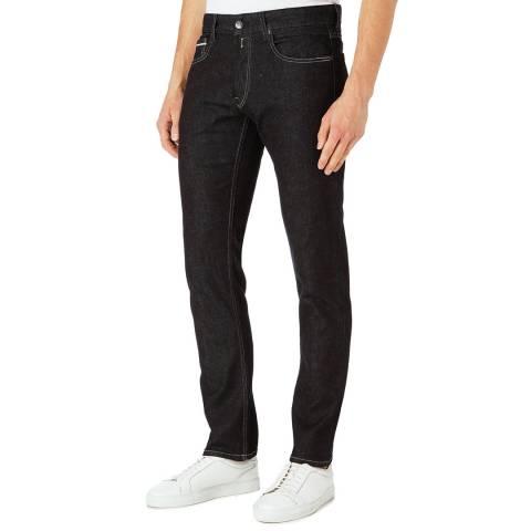 Replay Indigo Grover Straight Stretch Jeans