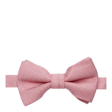 Ted Baker Pink Textured Silk Bowtie